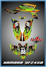 Yamaha YFZ 450 04-09  SEMI CUSTOM GRAPHICS KIT Birky1