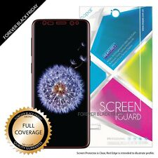 2X Samsung S9 Full Coverage Clear Screen Protector Edge to Edge Full LCD