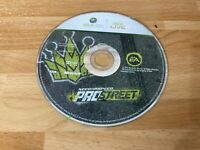 Need For Speed Pro Street Xbox 360 2007 Disc only