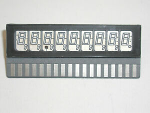 Sperry SP-425-09 VFD Display 7-Segment 9 Digit Orange