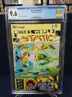Ditko's World #3 CGC 9.6 Steve Ditko cover, stories and art Renegade Press 1986
