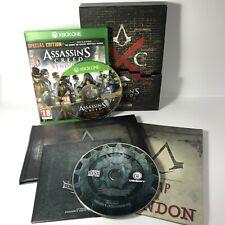 Assassin's Creed Edicion sindicato el guardameta COLECCIONISTAS BOX SET Xbox One