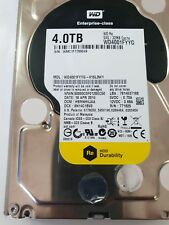 """WESTERN DIGITAL WD4001FYYG 4TB SAS 6GB/S 7200 RPM 3.5"""" HDD supermicro caddy"""