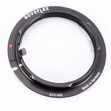 Novoflex Eos/Nik adaptador Nikon objetiva a Canon EOS cámaras