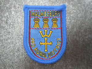 Malmesbury Rural County District Cloth Patch Badge Boy Scouts Scouting (L10S)