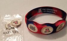 Wrist Skins Golf Ball Marker Bracelet,U of Arizona Wildcats, Magnetic,Size - L M