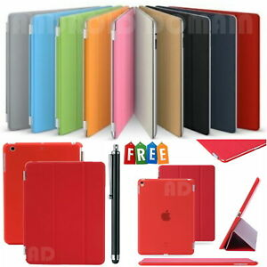 """Magnetic Smart Case For Apple iPad 9.7"""" 2017 and 2018, Pro 9.7"""" 2016 + Free Pen"""