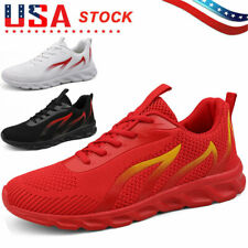 Men's Outdoor Athletic Running Sneakers Lightweight Casual Sports Tennis Shoes