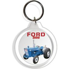 FORD GARDEN FARM INDUSTRIAL TRACTOR KEYCHAIN KEY CHAIN RING 3000 EQUIPMENT PART