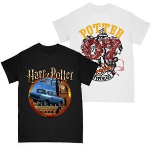 Harry Potter Boys Flying Car - Gryffindor Seeker T-shirt Multi Pack of 2 9-11