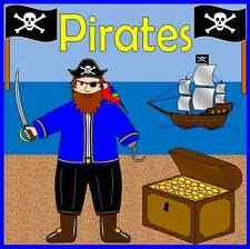 I PIRATI risorsa Pack su CD insegnanti-argomento, KS1, eyfs + Nave Pirata Gioco di ruolo