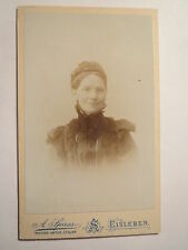 Lutheran-Woman in Dress with Glasses-Portrait/Cdv