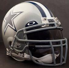 ***CUSTOM*** DALLAS COWBOYS NFL Riddell Deluxe REPLICA Football Helmet