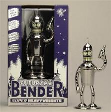 """Futurama - Diecast - Die Cast Metal  -  Bender 5"""" Shiny Super Heavy Weight"""