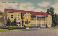 Postcard Woman's Building Tyler Texas