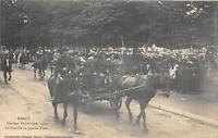 CPA 54 NANCY CORTEGE HISTORIQUE 1909 LA FAMILLE DE JEANNE D´ARC