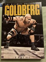 WWE: Goldberg - The Ultimate Collection (DVD, 2013, 3-Disc Set)