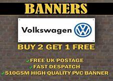 LARGE 2 METRE Volkswagen VW  Banner for Garage / Shop Promotional Item