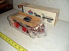 Old Vintage 1990 AMOCO Horses And Tanker Wagon Bank ERTL Box # 9563