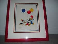 """Woody Woodpecker Serigraph Cel """"Party Pals""""  Framed With COA NEW"""