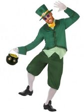 Déguisement Homme Lutin Irlandais M/L Costume Adulte Leprechaun Gobelin