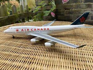 Herpa Diecast Boeing 747 Air Canada 1:200 Scale - C-FCRA