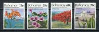 28417) Bahamas 1993 MNH New Flowers 4v