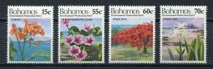 28417) BAHAMAS 1993 MNH** Nuovi** Flowers Fiori 4v