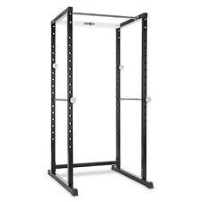 Klarfit Pr1000 Power Rack Support Stable pour Barres Haltères Musculation Acier