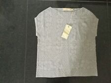 NWT Lilly and Bloom New Ladies Size Small Grey Sleeveless Top UK Size 10
