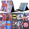 Marvel DC Apple iPad mini 1 2 3 Air 2 PU leather flip folio stand case cover