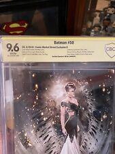 Batman #50 Natali Sanders Virgin Variant D Signed CBCS 9.6