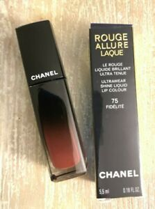 Chanel Rouge Allure Laque Ultrawear Shine Liquid Lip Colour 75 Fidelite NIB