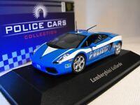 MODEL POLICE CAR Italian Police Force LAMBORGHINI GALLARDO SCALE 1/ 43 # DIECAST