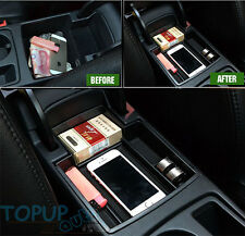 FITFOR AUDI A4 A5 B8 S4 ARMREST STORAGE BOX CENTER CONSOLE PALLET BIN CONTAINER
