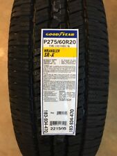 2756020 275/60R20 Goodyear Wrangler SRA 114S Blackwall, New Tire(s) - Qty 4