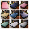 Quilted Mattress Cover Zipper Fitted Sheet Single Side Disassembly for Winter
