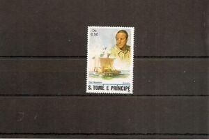 St Thomas and Prince Island 1982 1v of setNHM Navigators-Thor Heyerdahl-Kon-Tiki