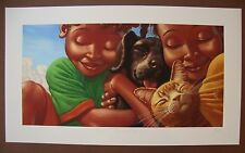 Kadir Nelson * Puppy Love * Printer's Proof LE - watercolor Giclée