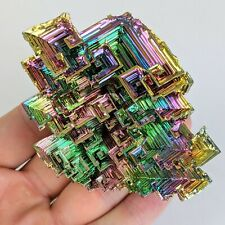 Bismuth XXL Rainbow Crystal Stone Mineral Rock Education Teaching Lab-grown