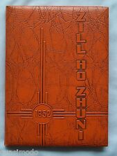 1952 GALLUP HIGH SCHOOL YEARBOOK, GALLUP, NEW MEXICO  ZILL HO ZHUNI