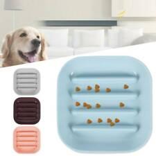 New listing Slow Feed Dog Food Bowl Non Skid Dish Break Fast Eating Habits Feeder Usa