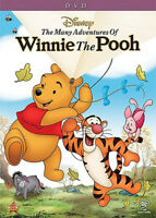 The Many Adventures of Winnie the Pooh DVD NEW