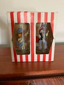 Vintage Kentucky Fried Chicken 1980s Promo Glasses KFC Glasses Baby haw & Fox