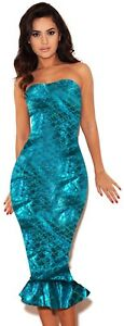 Sexy Mermaid Ladies Fairytale Book Fancy Dress Womens Adults Costume Outfit New
