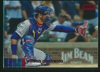 2020 Topps Stadium Club Red Foil Parallel #291 Willson Contreras Chicago Cubs