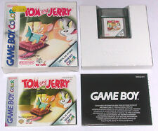 Jeu: tom and & Jerry pour gameboy color/complètement OVP + Instructions