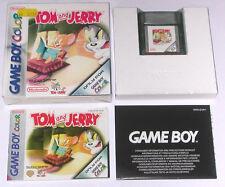 Spiel: TOM AND & JERRY für Gameboy Color / KOMPLETT OVP + ANLEITUNG