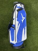 Mizuno Comp Tour Stand Golf Bag Blue White Black 4-Way Divide BRAND NEW!!