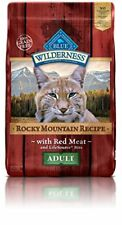 Blue Buffalo Cat Rocky Mountain Recipes Adult Red Meat Dry Cat Food 10 lb Bag